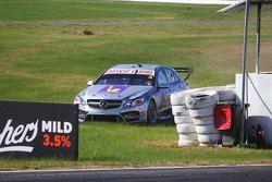 Ash Walsh, Erebus Motorsports Mercedes off track
