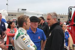 Ed Carpenter, CFH Racing Chevrolet and Derek Daly and Eddie Cheever