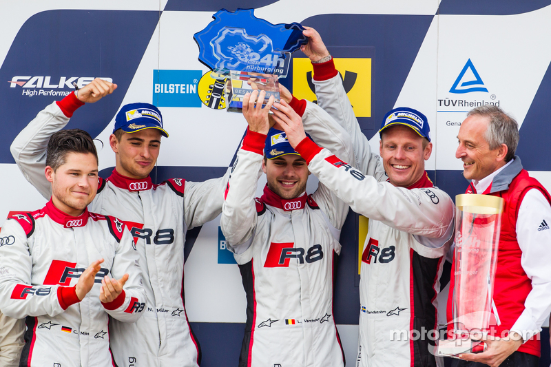 2015: Christopher Mies, Edward Sandström, Nico Müller, Laurens Vanthoor