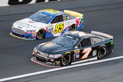 Michael McDowell, Leavine Family Racing Ford and Alex Bowman, Tommy Baldwin Racing