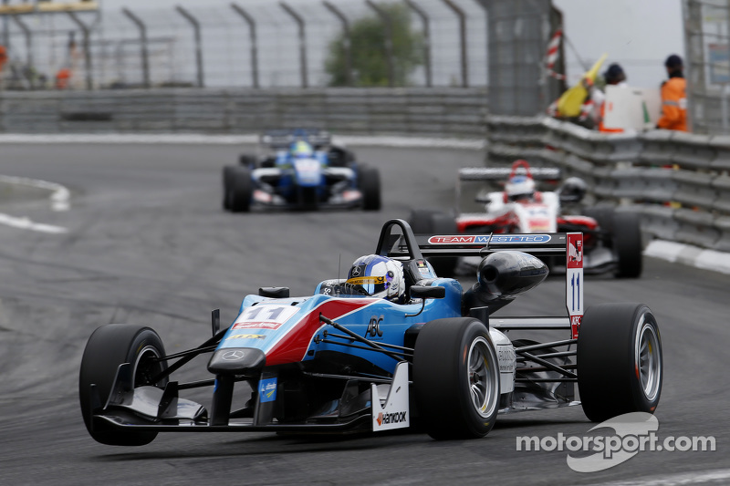 Fabian Schiller, Team West-Tec F3, Dallara Mercedes-Benz