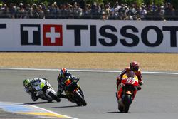 Марк Маркес, Repsol Honda Team, Брэдли Смит, Tech 3 Yamaha и Кэл Кратчлоу, Team LCR Honda