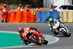Marc Marquez, Repsol Honda Team and Cal Crutchlow, Team LCR honda