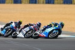 Maverick Viñales, Team Suzuki MotoGP and Mike Di Meglio, Avintia Racing Ducati and Alex de Angelis,
