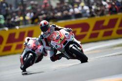 Yonny Hernandez and Danilo Petrucci, Pramac Racing Ducatis