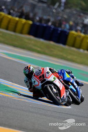 Danilo Petrucci, Pramac Racing Ducati and Maverick Viñales, Team Suzuki MotoGP