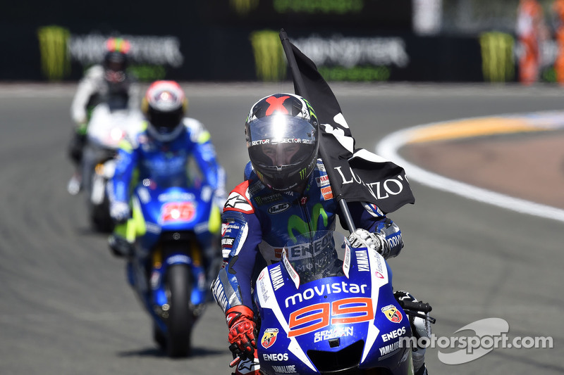 Winner Jorge Lorenzo Yamaha Factory Racing
