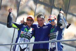 İkinci Valentino Rossi ve Jorge Lorenzo, Yamaha Fabrika Takımı