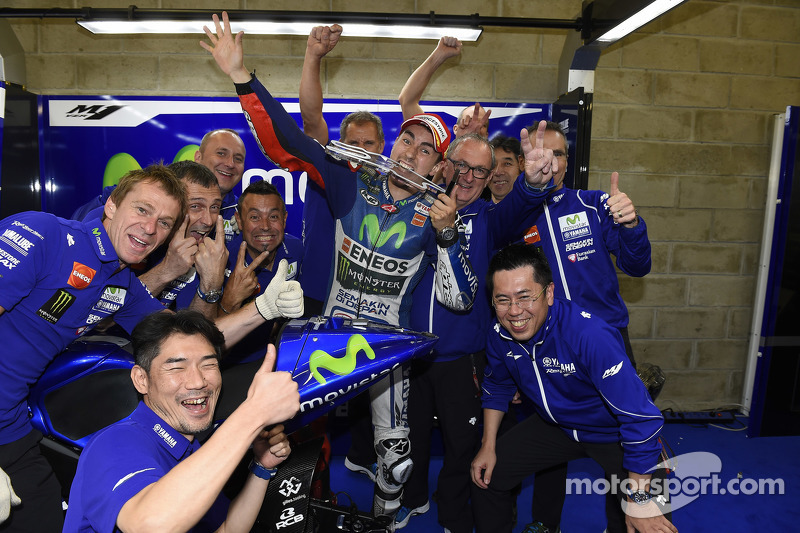 35- GP da França 2015, Yamaha