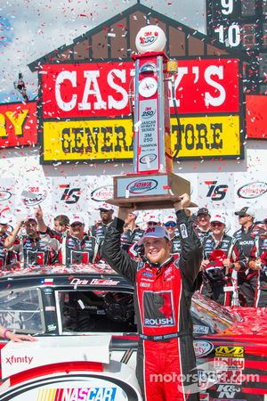 Racewinnaar Chris Buescher, Roush Fenway Racing Ford