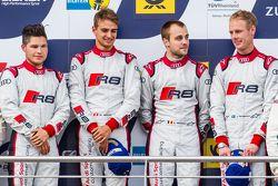 Podium : les vainqueurs #28 Audi Sport Team WRT Audi R8 LMS : Christopher Mies, Edward Sandström, Nico Müller, Laurens Vanthoor