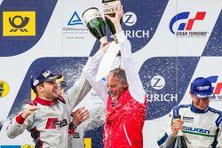 Podium: poors champagne on Romolo Liebchen