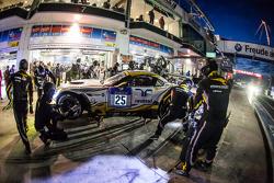 Pit stop para #25 Marc VDS Racing BMW Z4 GT3: Maxime Martin, Lucas Luhr, Markus Palttala, Richard We