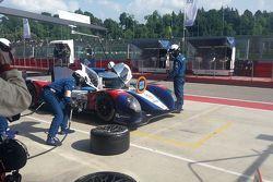 BR01-Nissan команды SMP Racing: Михаил Алёшин, Антон Ладыгин, Кирилл Ладыгин. Пит-стоп