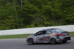 #38 Kinetic Motorsports, Kia Forte Koup: Samantha Tan