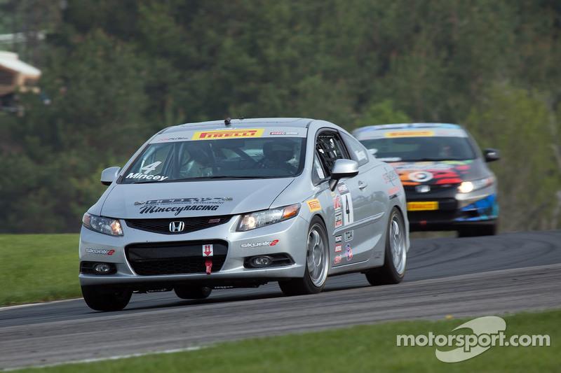 #4 MINCEY RACING Honda Civic Si: Timothy Mincey Sr.