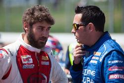 #64 Scuderia Corsa, Ferrari 458 Italia: Duncan Endee und #43 RealTime Racing, Acura TLX-GT: Ryan Eve