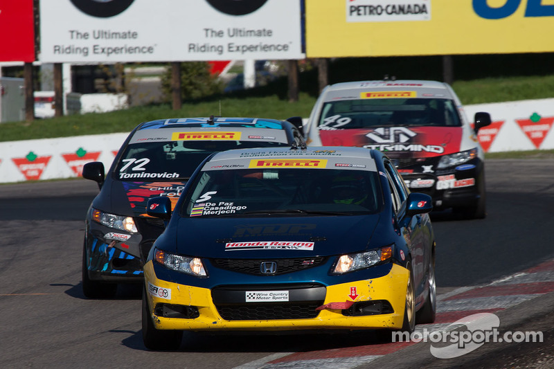 #5 NDP Motorsports Honda Civic: Neal de Paz