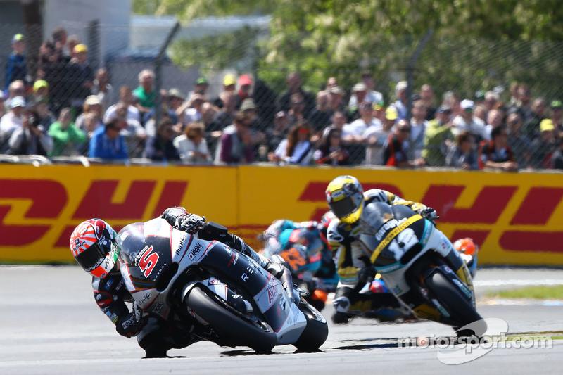 Johann Zarco, Ajo Motorsport und Thomas Lüthi, Derendinger Racing Interwetten