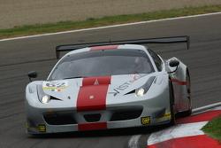 #62 AF Corse, Ferrari F458 Italia GT3: Thomas Flohr, Stuart Hall, Francesco Castellacci