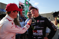 Scott Dixon, Chip Ganassi Racing, Chevrolet, und Sage Karam, Chip Ganassi Racing, Chevrolet