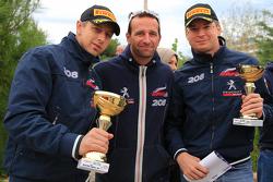 Илья Карпинский, Кристиан Сольберг и Сергей Тамбовцев, Peugeot Team Russia, Peugeot 208 R2