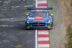 #33 Team Premio Mercedes-Benz SLS AMG GT3: Rob Huff, Kenneth Heyer, Philipp Frommenwiler, Christian