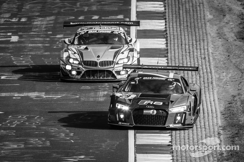 #29 Audi Sport Team WRT, Audi R8 LMS: Nicki Thiim, Christer Jöns, Pierre Kaffer, Laurens Vanthoor un
