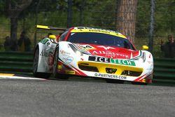 #64 AF Corse Ferrari F458 Italia GT3 : Mads Rasmussen, Felipe Barreiros, Francisco Guedes