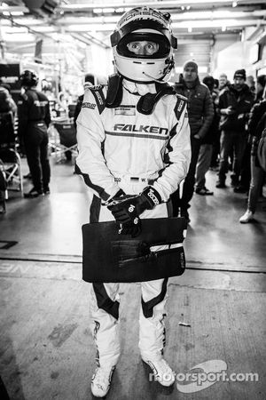 Wolf Henzler ready for a stint