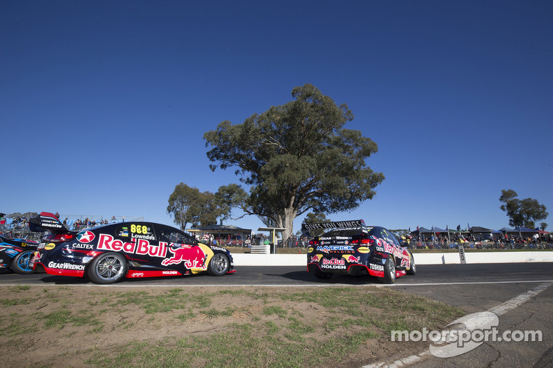 Craig Lowndes, Triple Eight Renningenieuring, Holden, und Jamie Whincup, Triple Eight Renningenieuring, Holden