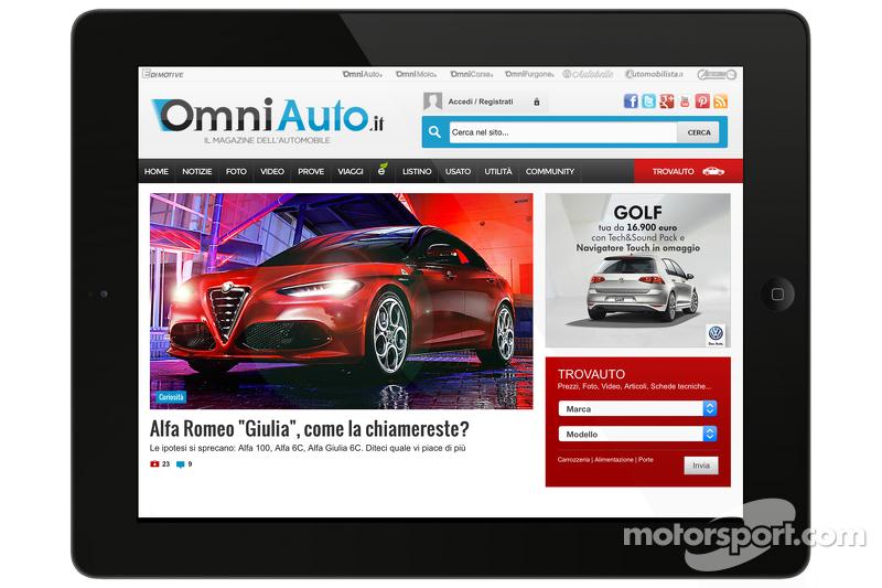 Скриншот OmniAuto.it