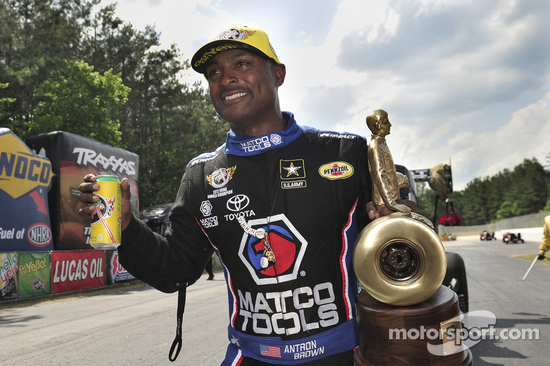 Ganador Top Fuel Antron Brown