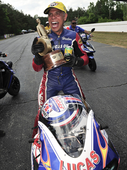 Pro Stock Bike winner Hector Arana Sr.