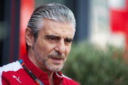 Director del equipo Ferrari Maurizio Arrivabene