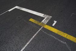 De pole positie op de grid