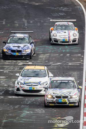 #184 Sorg Rennsport BMW 325i: Ronja Assmann, Daniel Engl, Felix Günther, Niklas Meisenzahl, #250 Tea