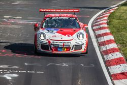 #75 Getspeed Performance, Porsche 997 GT3 Cup: Adam Osieka, Dieter Schornstein, Andy Sammers