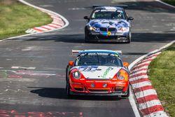 #73 Teichmann Racing Porsche 997 GT3 Cup: Torleif Nytroeen, Morten Skyer, Antti Buri, Kari-Pekka Laa