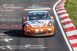 #70 Teichmann Racing Porsche 997 GT3 Cup: Alex Autumm, Marc Hennerici, Dominik Brinkmann, Don Stephano
