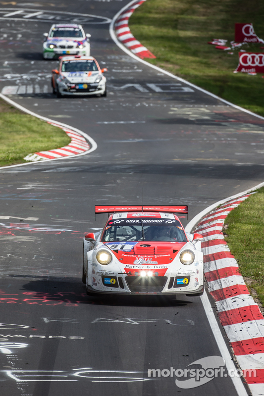 #91 Team Manthey Porsche 911 GT3 Cup MR: Dieter Schmidtmann, Andreas Ziegler, Marco Schelp, Peter Sc