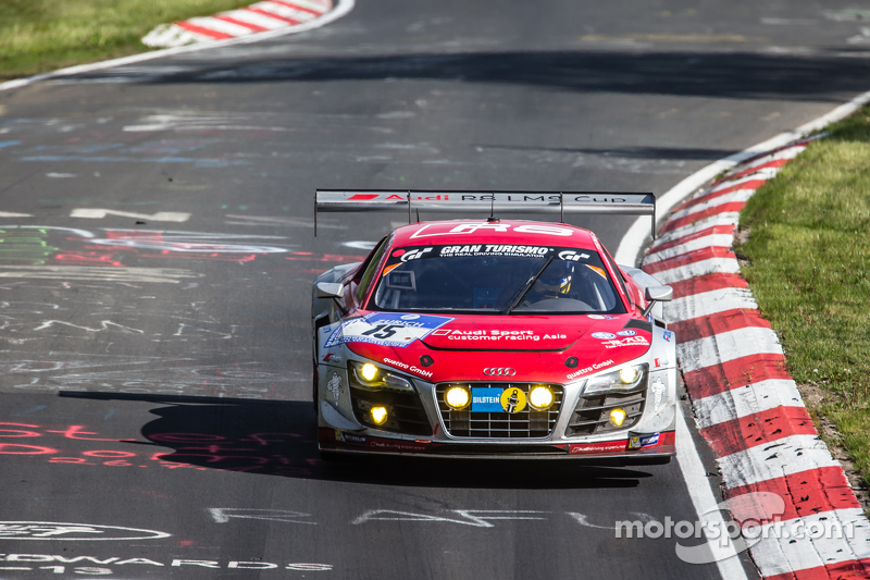 #15 Audi Race Experience Audi R8 LMS ultra: Alex Yoong, Frankie Cheng, Marchy Lee, Shaun Thong