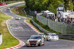 #185 Team AutoArenA Motorsport Mercedes-Benz C23: Patrick Assenheimer, Marc Marbach, Steffen Fürsch