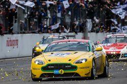 Checkered flag: #49 Aston Martin Test Centre Aston Martin V8: Ulrich Bez, Andreas Bänzinger, Mal Ros