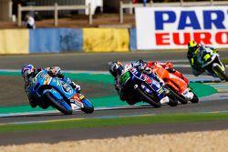 Fabio Quartararo, Estrella Galicia 0,0 et Enea Bastianini, Gresini Racing Team Moto3