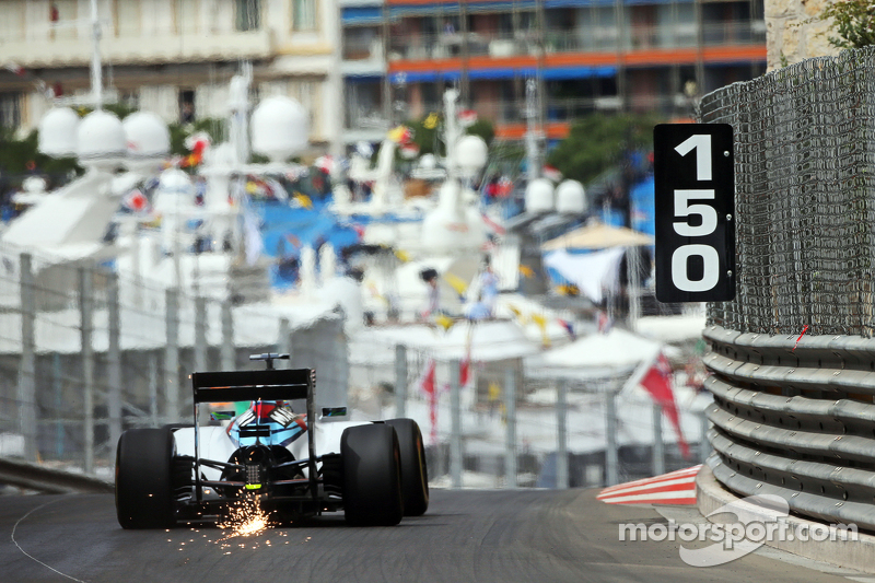 F1, Monte Carlo 2015: Felipe Massa, Williams FW37