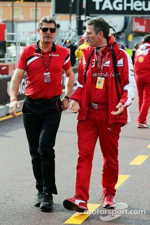 Грэм Лоудон, Manor F1 Team и Джеймс Эллисон, Ferrari