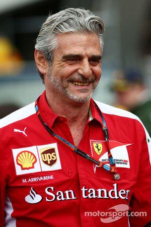 Maurizio Arrivabene, Ferrari El director del equipo