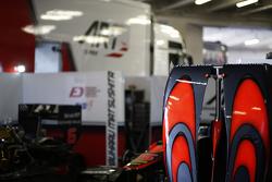 Bodywork of ART Grand Prix car