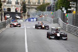 Robert Visoiu, Rapax, Pierre Gasly, DAMS and Sergio Canamasas, MP Motorsport